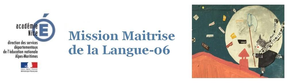 Mission Maîtrise de la langue