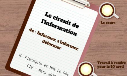 Le circuit de l'information : parcours EMI