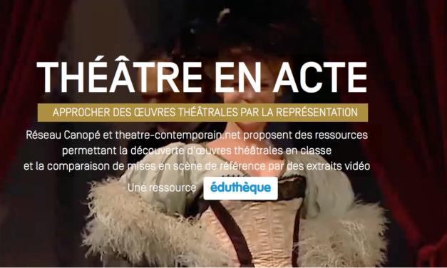 Théâtre en actes