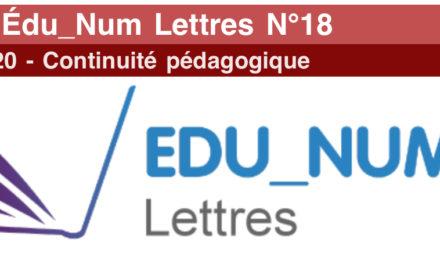 Lettre Édu_Num Lettres N°18