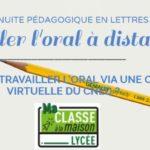 Travailler l'oral avec une classe virtuelle CNED