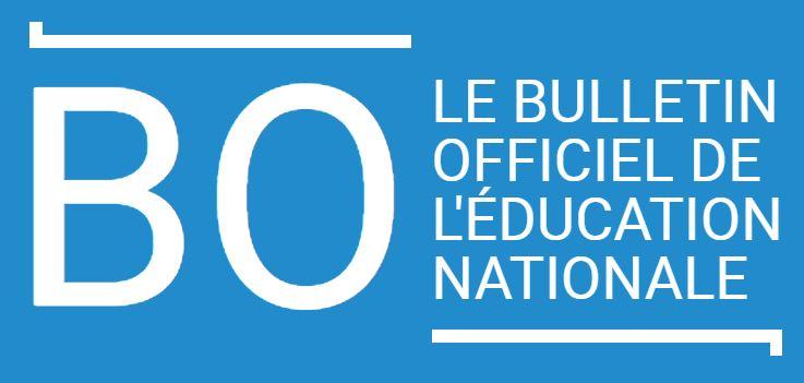 BULLETIN OFFICIEL N°21 DU 21 MAI 2020 / SPECIALITE ET OPTION THEATRE