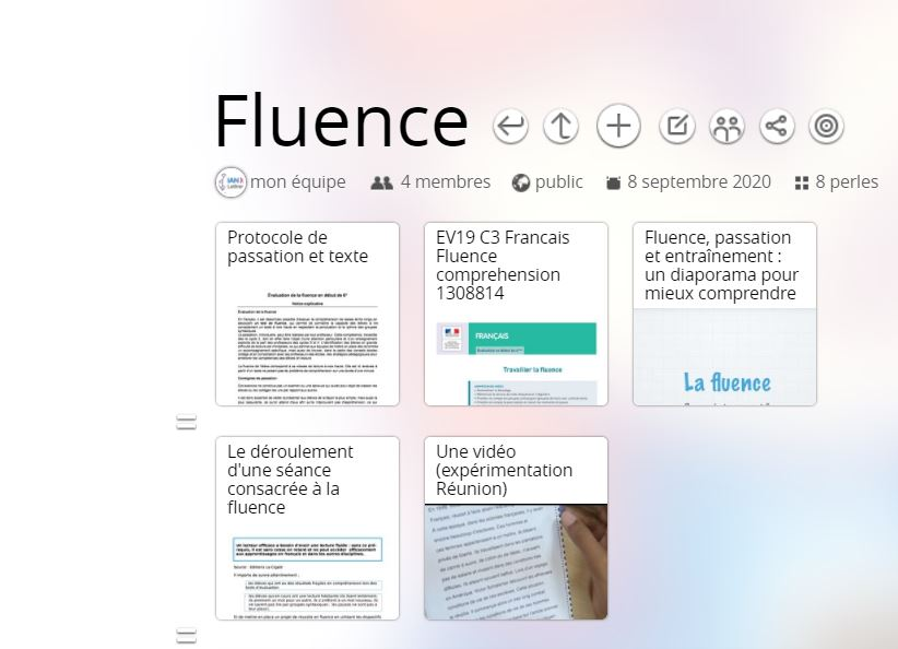 FLUENCE : DOCUMENTS ET RESSOURCES
