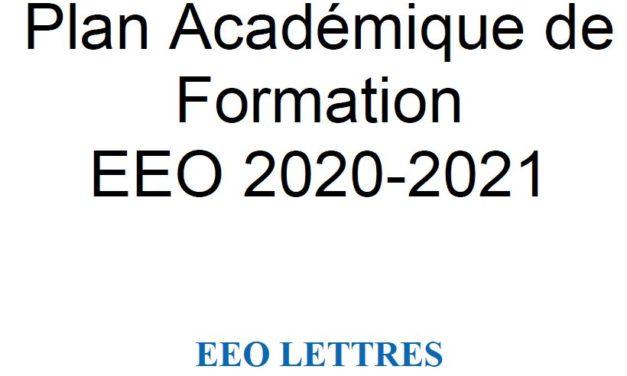 PAF LETTRES 2020-2021
