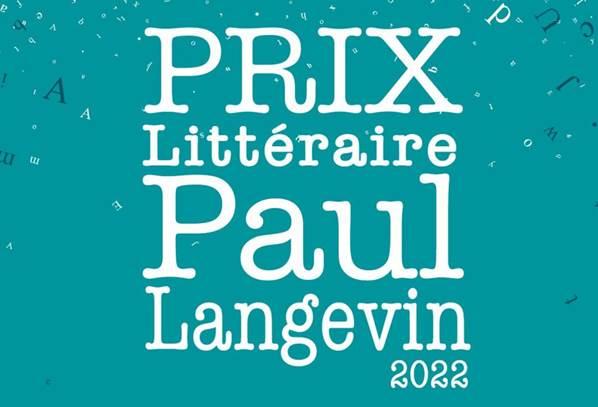 Prix Littéraire Paul Langevin