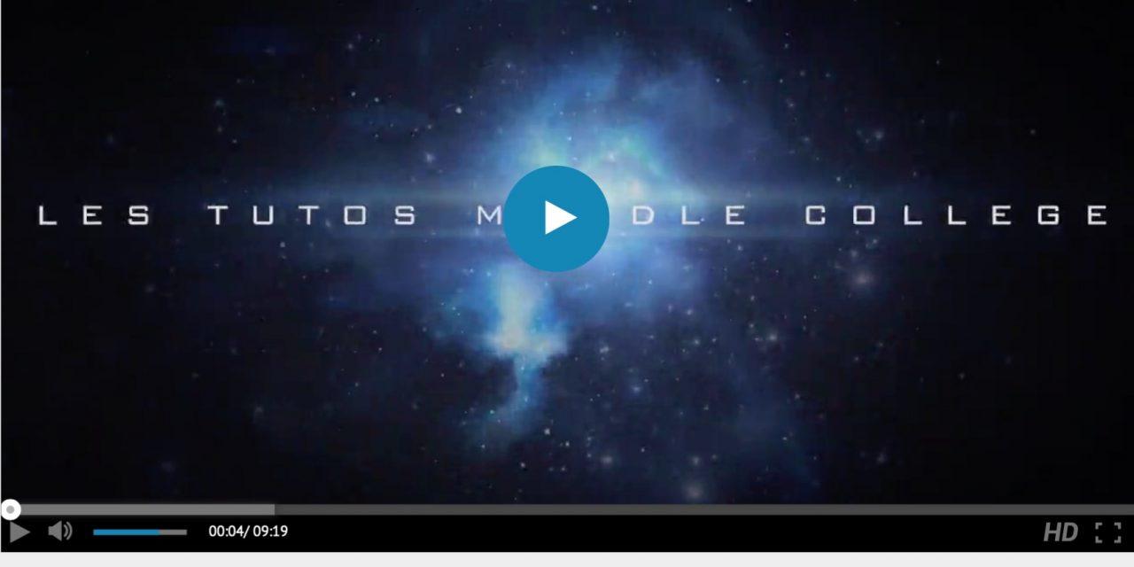 Moodle collège – Episode 1