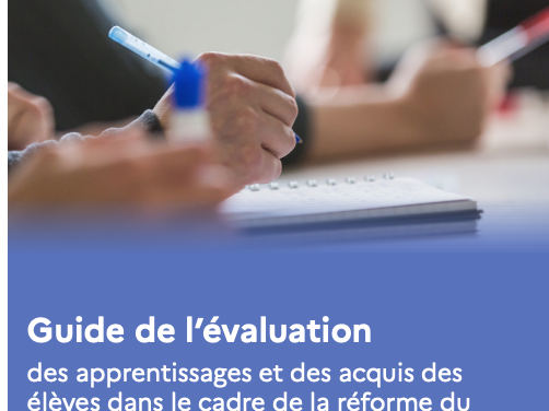 Guide de l'évaluation