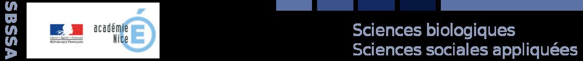 Sciences Biologiques Sciences Sociales Appliqués