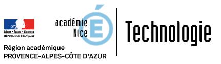 Site Disciplinaire de Technologie de l'académie de Nice